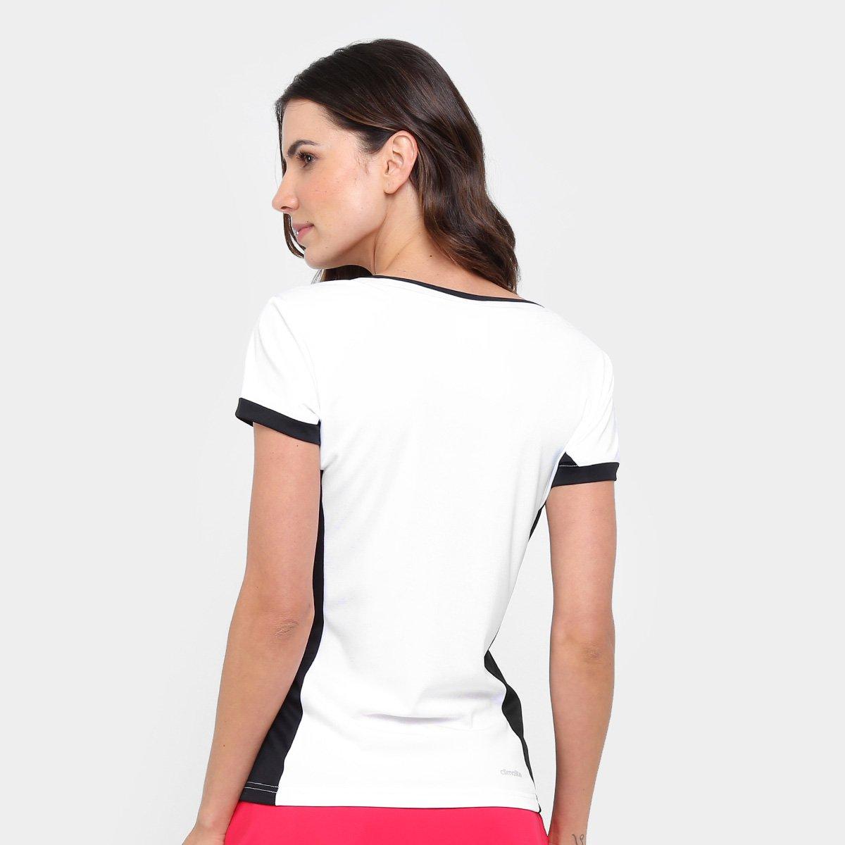 Camiseta Adidas Court W Feminina - Compre Agora  fe3c9ea279e72