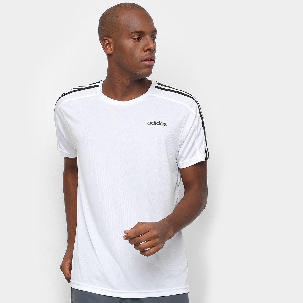 Compre Camiseta Adidas Branca Online | Netshoes