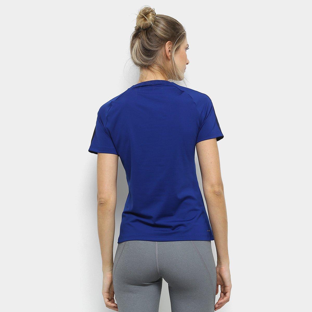 3Stripes 3Stripes D2M D2M Azul Adidas Camiseta Azul Feminina Camiseta Adidas Feminina IqxpwyA8O