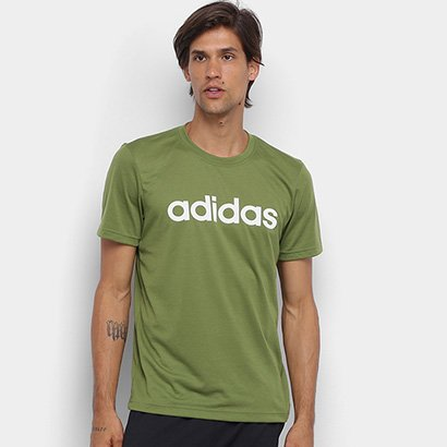 Camiseta Adidas D2M Logo T Masculina