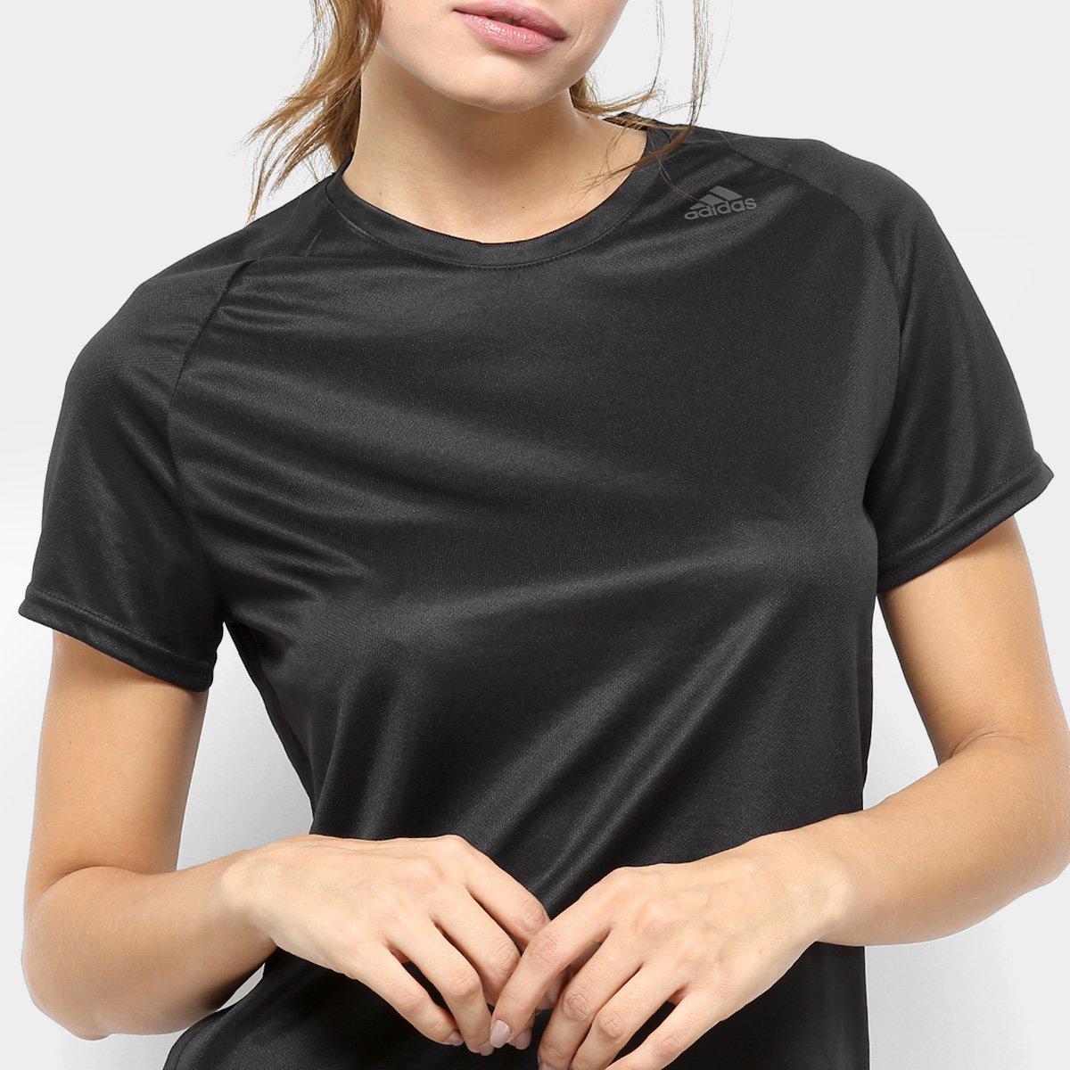 Preto Feminina Camiseta Lose Adidas D2M Camiseta Adidas YxpBOwzq