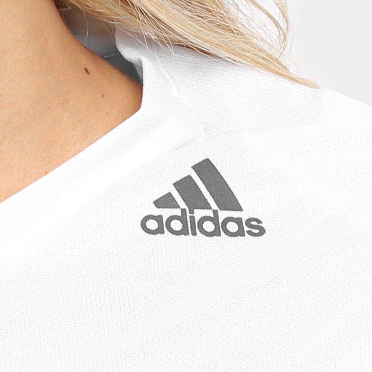 Adidas Branco Camiseta Adidas Lose Feminina D2M Lose D2M Camiseta Camiseta Adidas Branco Feminina Oxx78