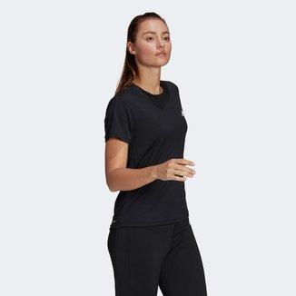 Camiseta Adidas D2M Sport Feminina