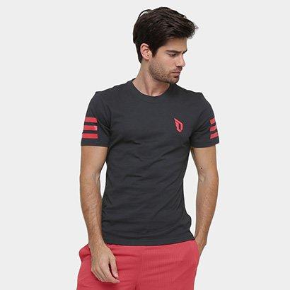Camiseta Adidas Damian Lillard Stripe - Masculino