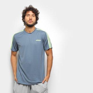 Camiseta Adidas Designed 2 Move 3 Stripes Masculina
