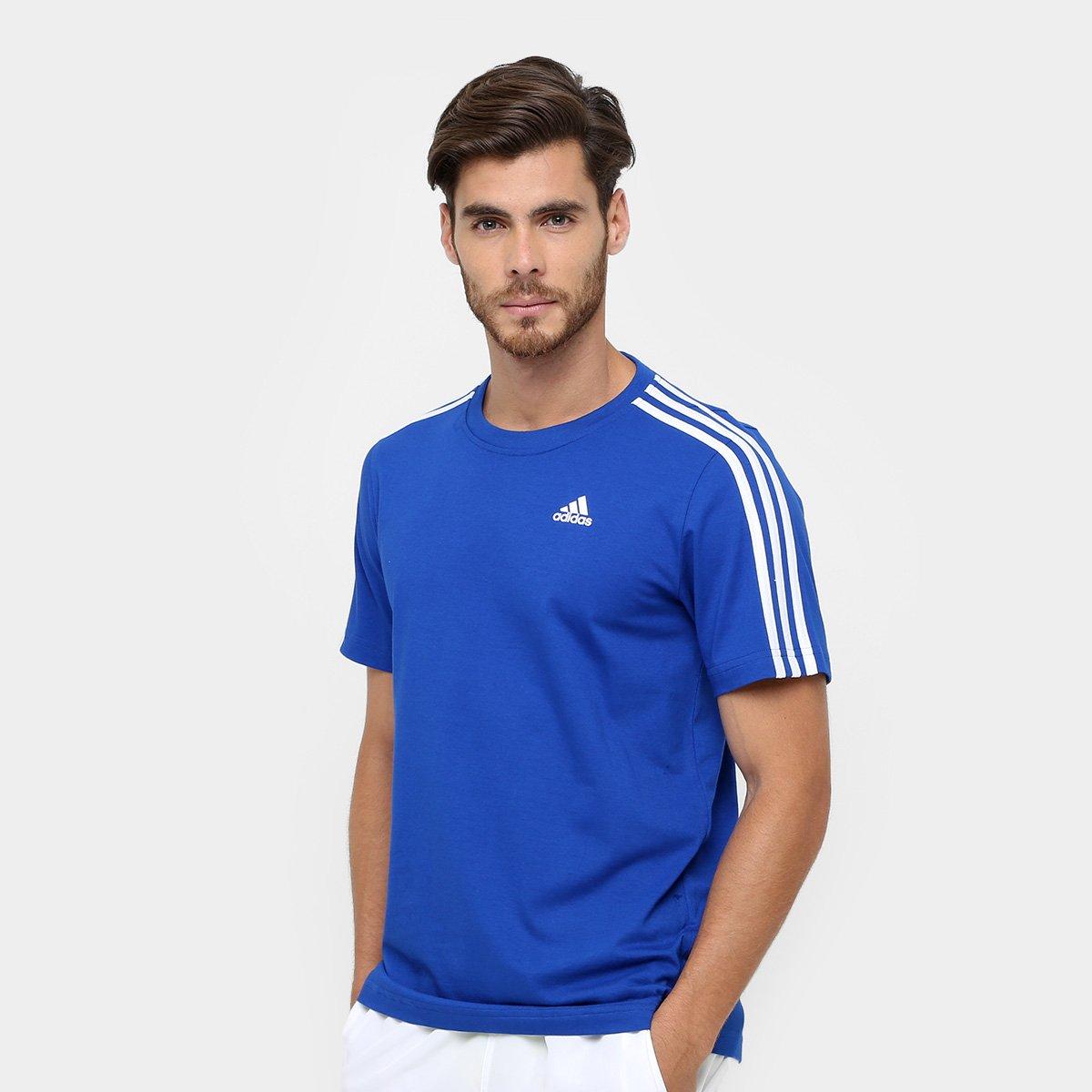56d618c784429 Camiseta Adidas Ess 3S Tee Masculina | Netshoes
