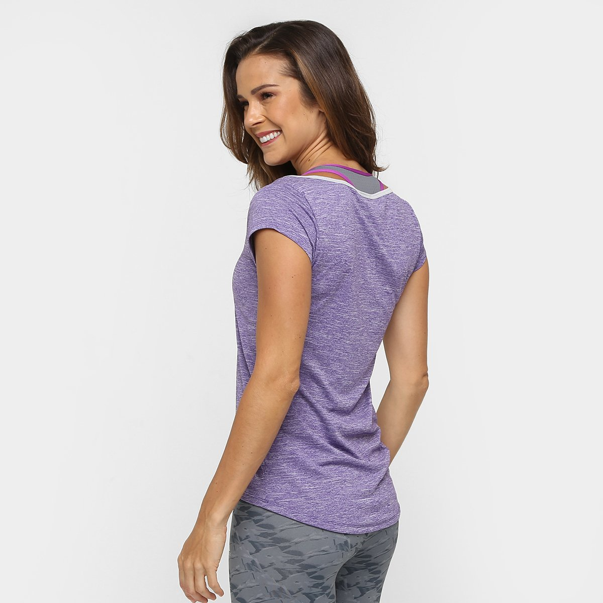 Clima Camiseta Ess Adidas Adidas Roxo Feminina Camiseta Ess Mescla vgzgF4q