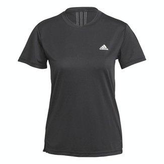 Camiseta Adidas Essentials 3s Preto Feminino