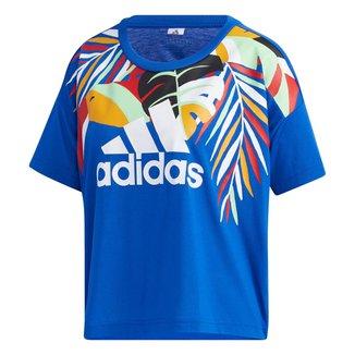 Camiseta Adidas Farm Rio Tucano Feminina