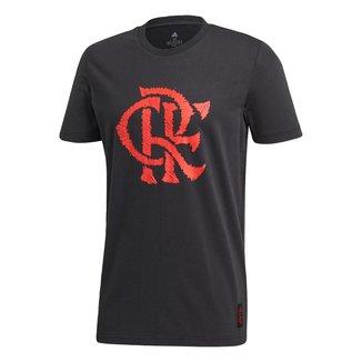 Camiseta Adidas Flamengo Gráfica Masculina