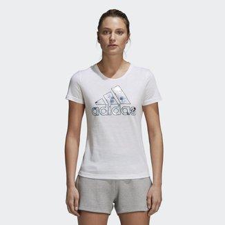 Camiseta Adidas Foil Badge Of Sport Feminina