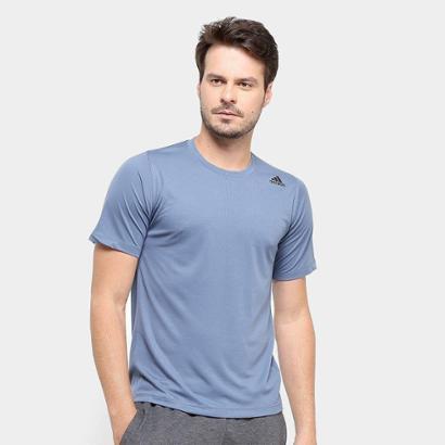 Camiseta Adidas Freelift Sport Fitted Three Stripes Masculina