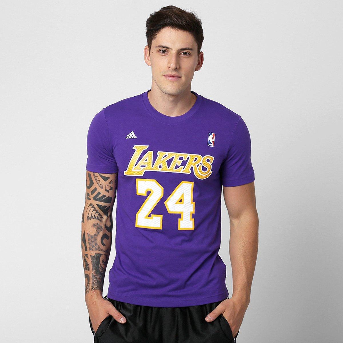 8a98937051c31 Camiseta Adidas Gametime NBA Los Angeles Lakers - Compre Agora ...