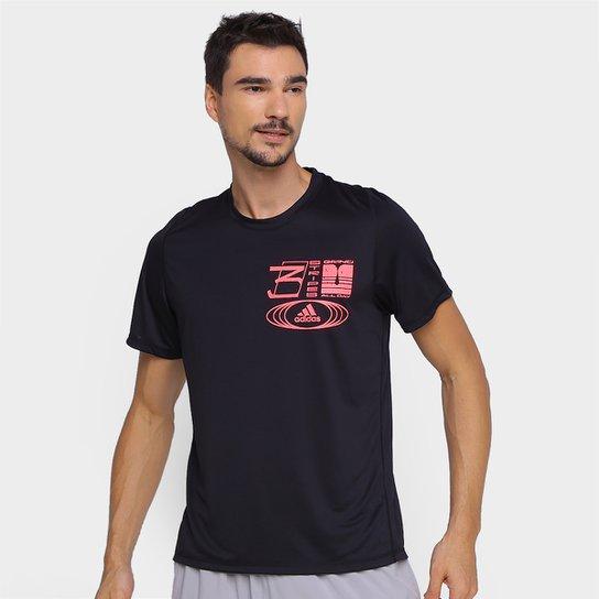Camiseta Adidas Grind All Day Masculina - Preto
