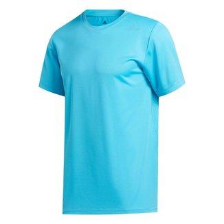Camiseta Adidas Heat.Rdy 3Stripes Signal Cyan Masculina