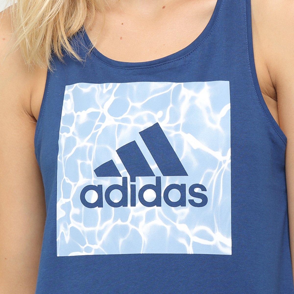 Camiseta Marinho ID Adidas Camiseta Bos Adidas Feminina TSHqTZrw