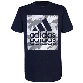 Camiseta Adidas Infantil Gráfica