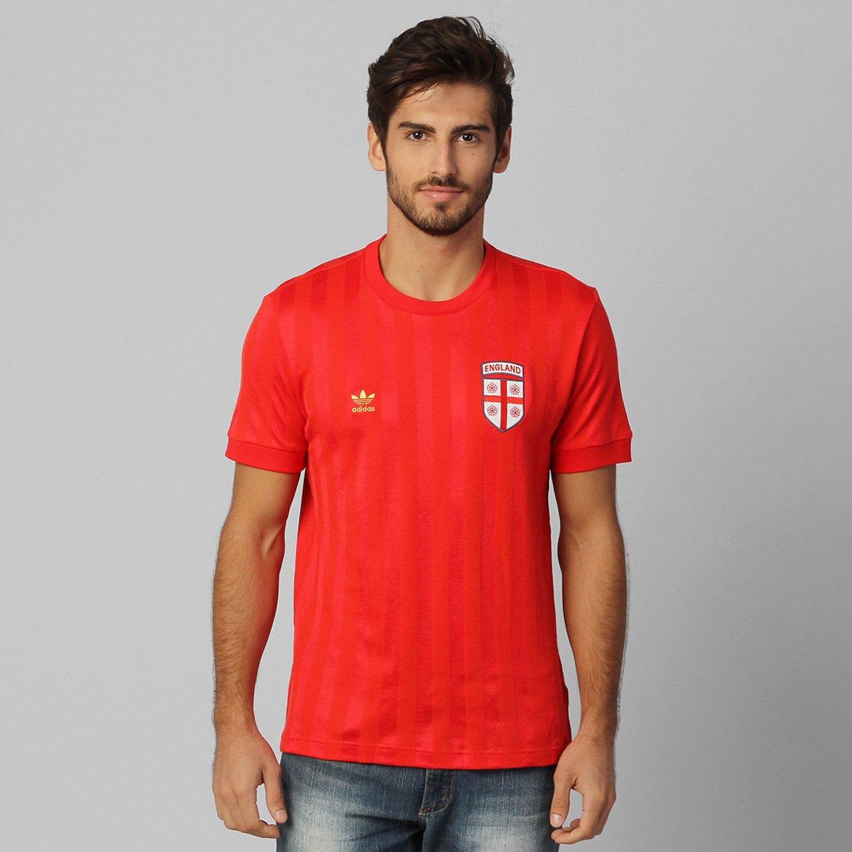 ac25d6d7cb7dd Camiseta Adidas Inglaterra Retrô - Compre Agora