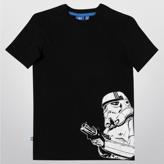 Aeródromo petróleo Masculinidad  Camiseta Adidas J Star Wars ST Infantil | Netshoes