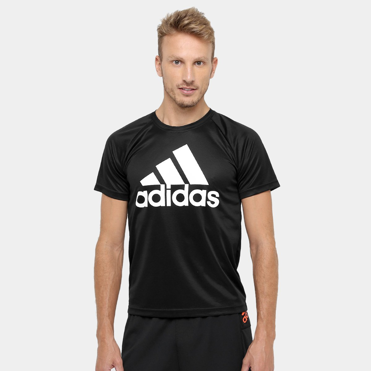 Camiseta Adidas M2M Logo Masculina - Compre Agora  aa74440b20efa