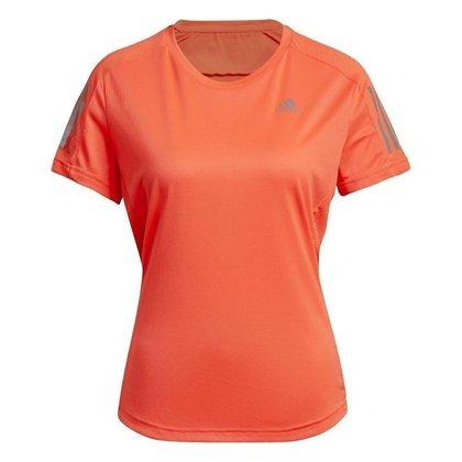 Camiseta Adidas Manga Curta Own The Run Feminina H30044