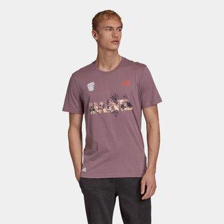 Camiseta Adidas Marvel Masculina