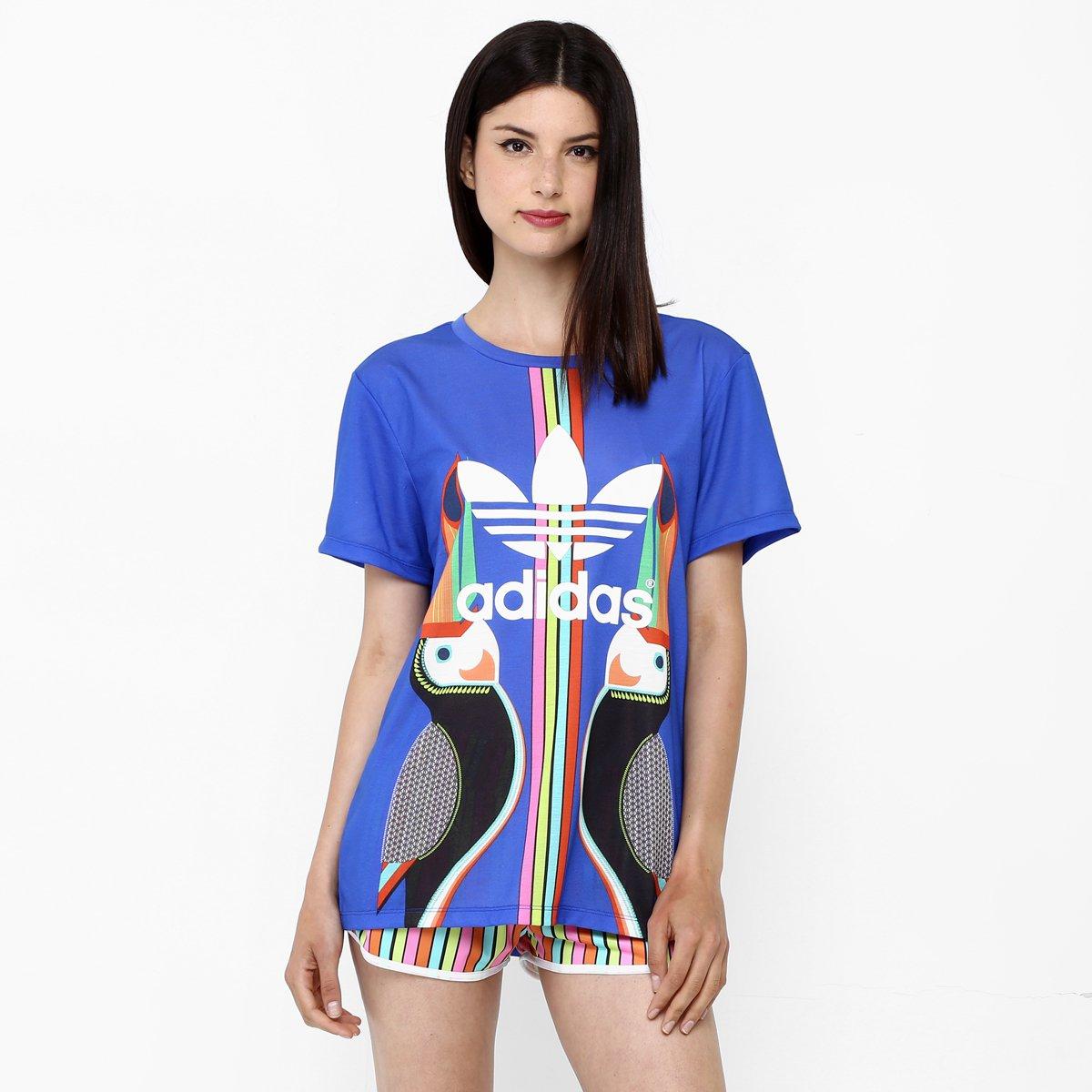 4ca62aa29d5 Camiseta Adidas Originals Bf Trefoil - Compre Agora