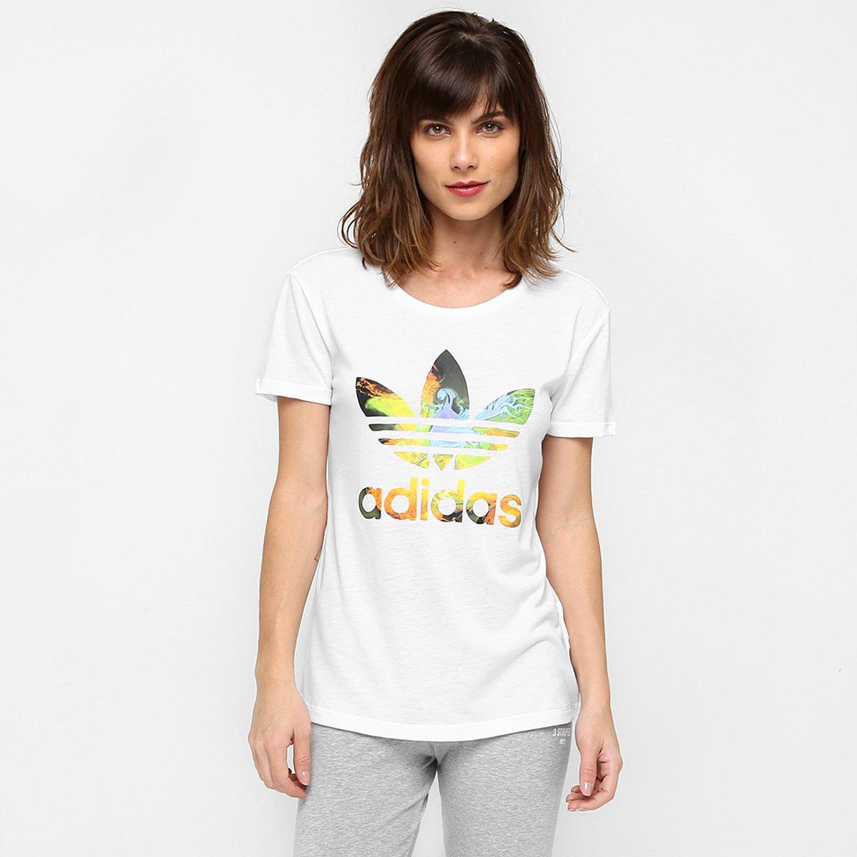 1a56741c622cb Camiseta Adidas Originals Graphic Trefoil | Netshoes