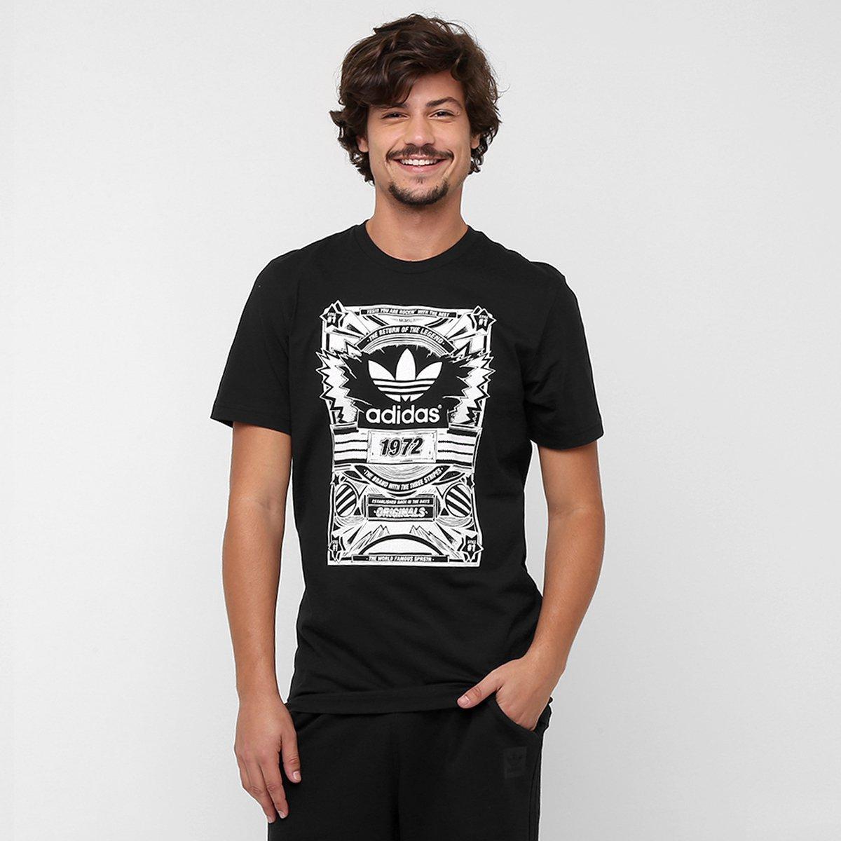 Absay jerarquía FALSO  Camiseta Adidas Originals Old School | Netshoes