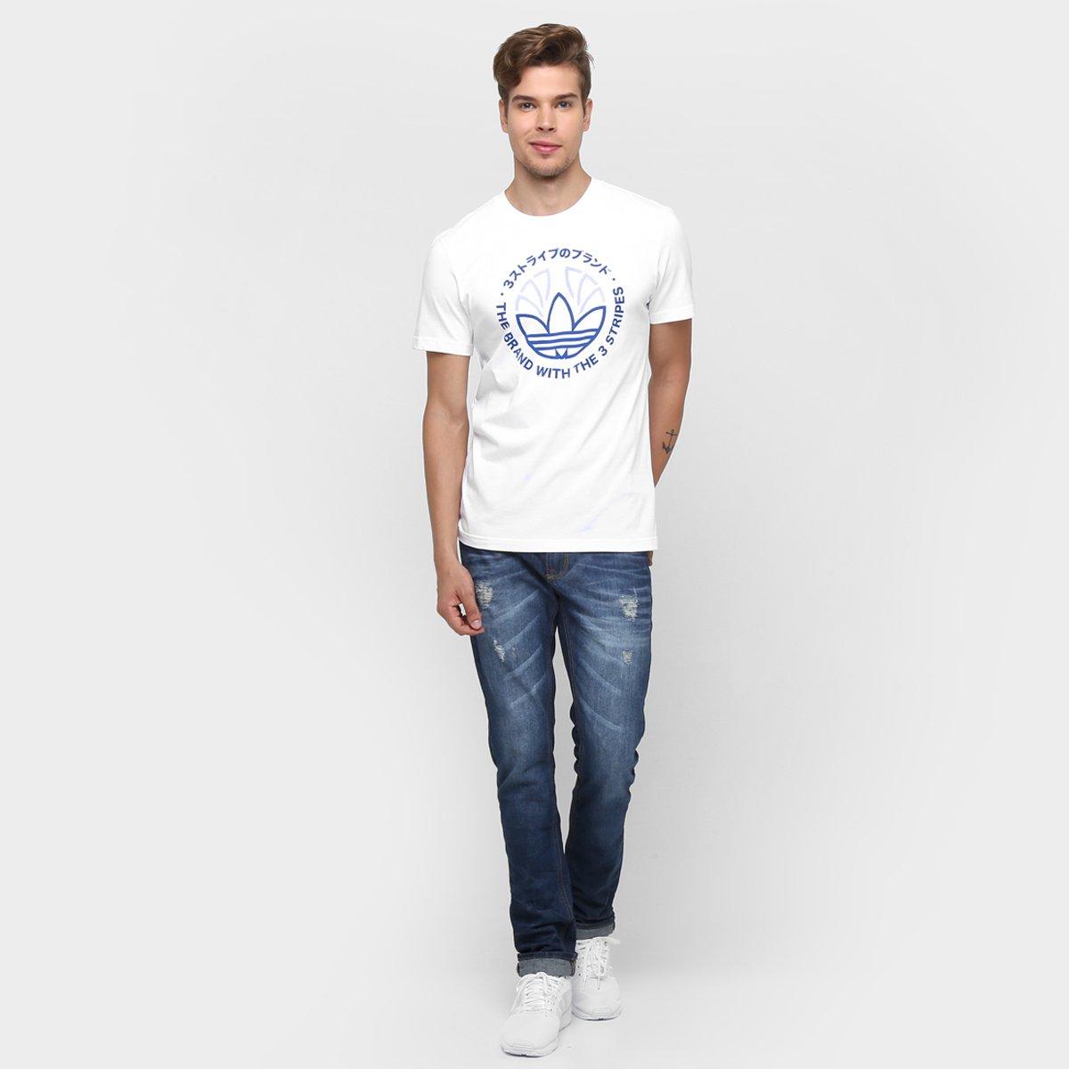 Camiseta Adidas Originals Tech Trefoil - Compre Agora  1d9fad95cbc37