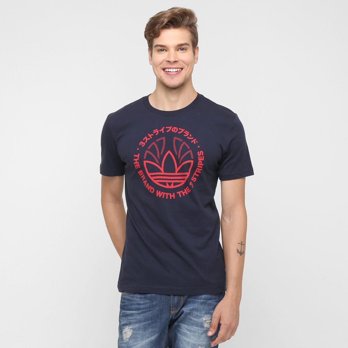 a7c1355df33 Camiseta Adidas Originals Tech Trefoil - Compre Agora