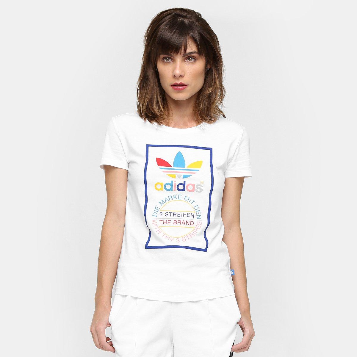 f061795d03e Camiseta Adidas Originals Tongue Label Slim - Compre Agora