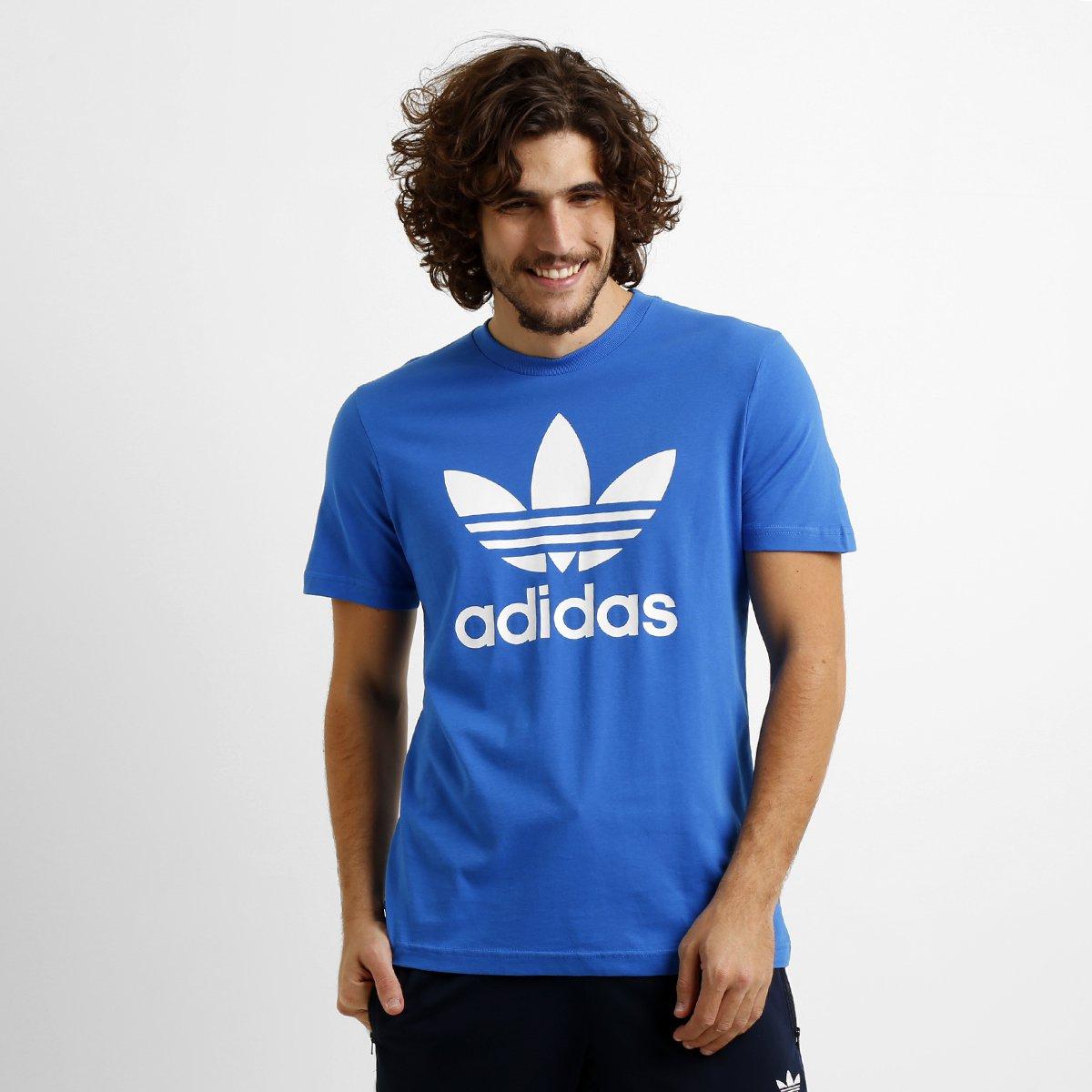 3e7a25088cc Camiseta Adidas Originals Trefoil - Compre Agora