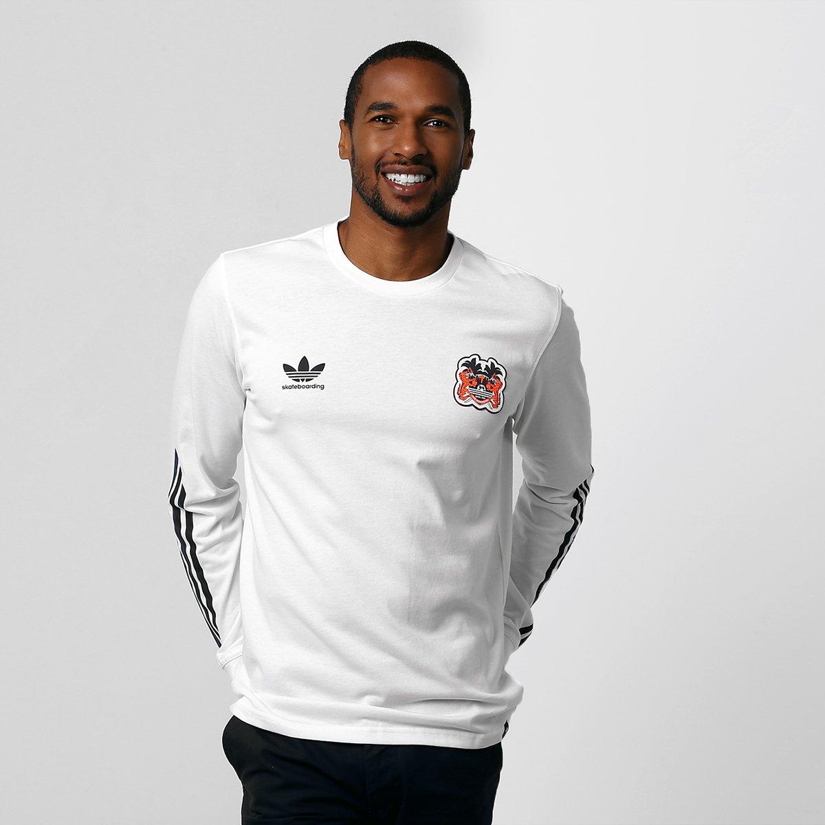 2019 auténtico compra venta atesorar como una mercancía rara Camiseta Adidas Originals - Branco