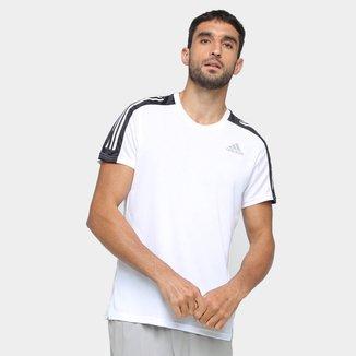 Camiseta Adidas Own The Run 3 Stripes Masculina
