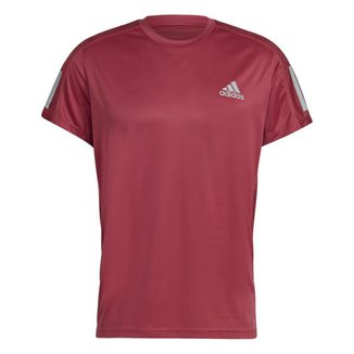 Camiseta Adidas Own The Run Logo Masculina