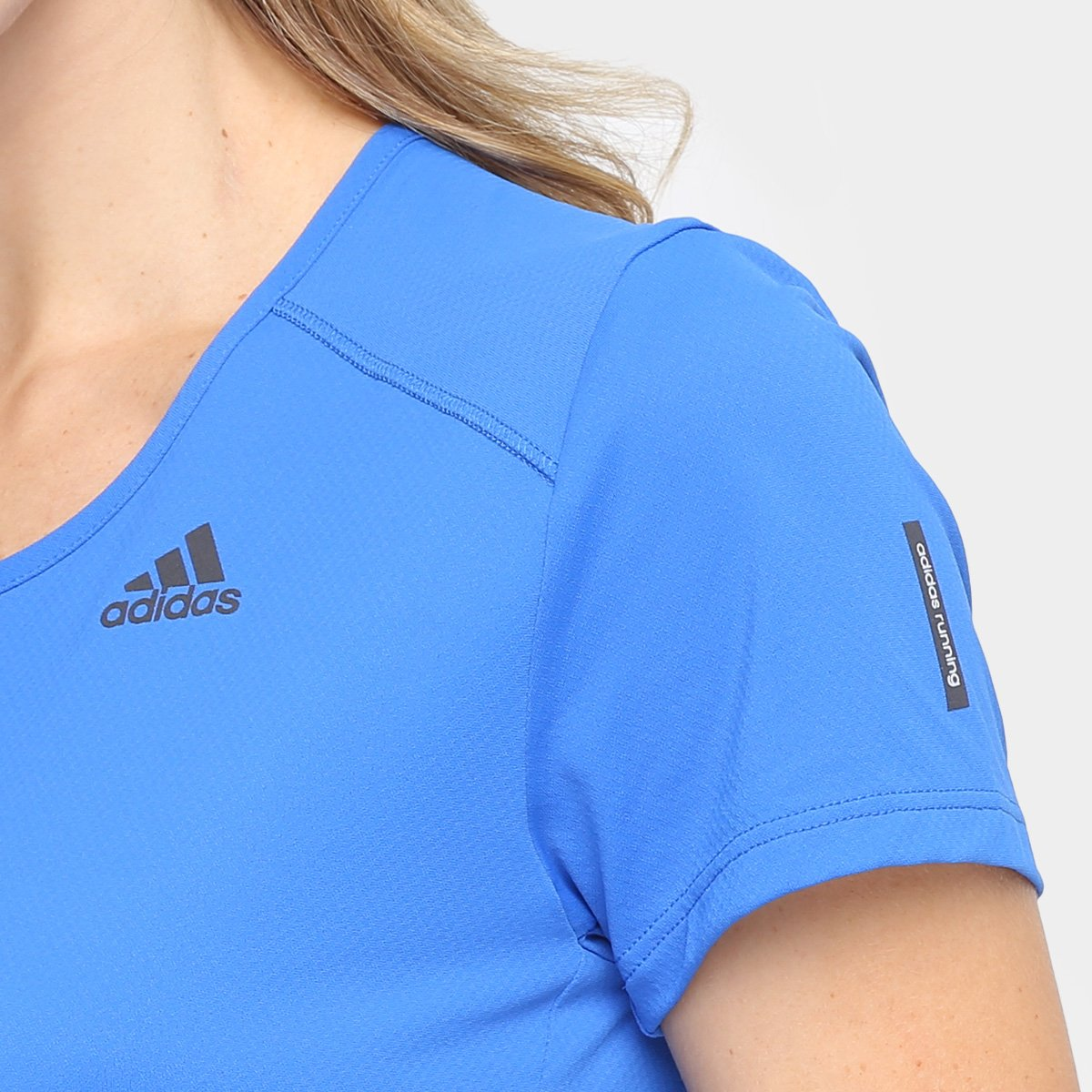 Response Camiseta Feminina Feminina Response Adidas Poliamida Adidas Poliamida Azul Azul Camiseta ZXqEwZTxd