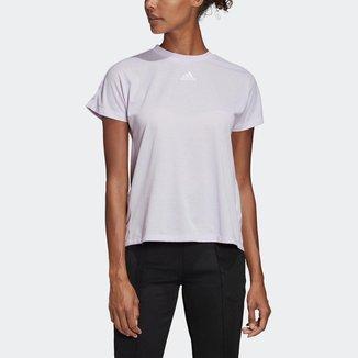 Camiseta Adidas Pregueada Feminina