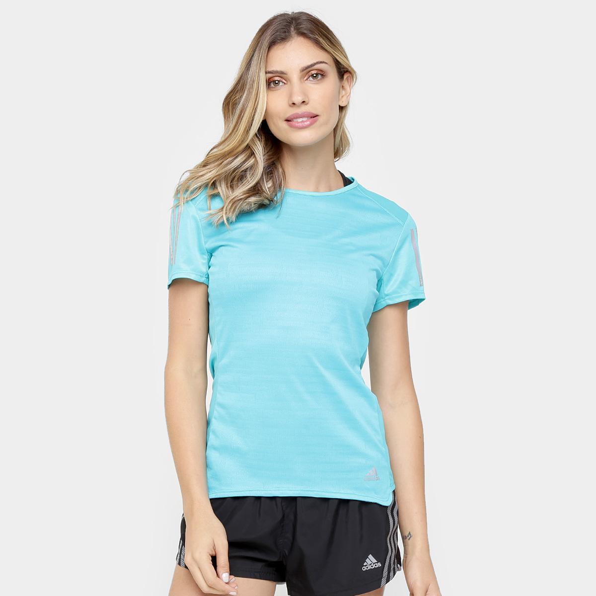 25e255e22da18 Camiseta Adidas Response ClimaCool Feminina - Compre Agora