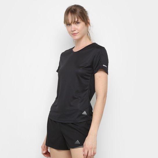 Contento Derribar Oferta de trabajo  Camiseta Adidas Run It Feminina - Preto | Netshoes