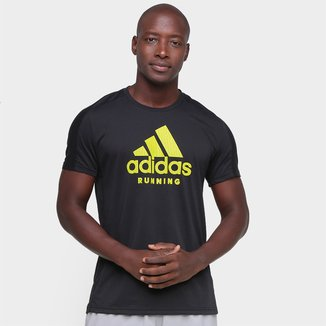 Camiseta Adidas Run Logo Masculina