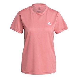 Camiseta Adidas Sl Performance Rosa Feminino