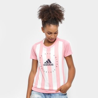 Camiseta Adidas Slim Feminina