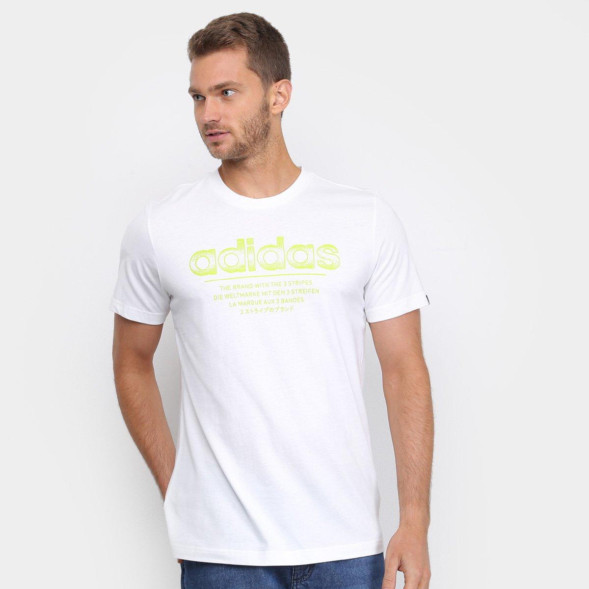Camisetas Adidas Masculinas Melhores Preços | Netshoes