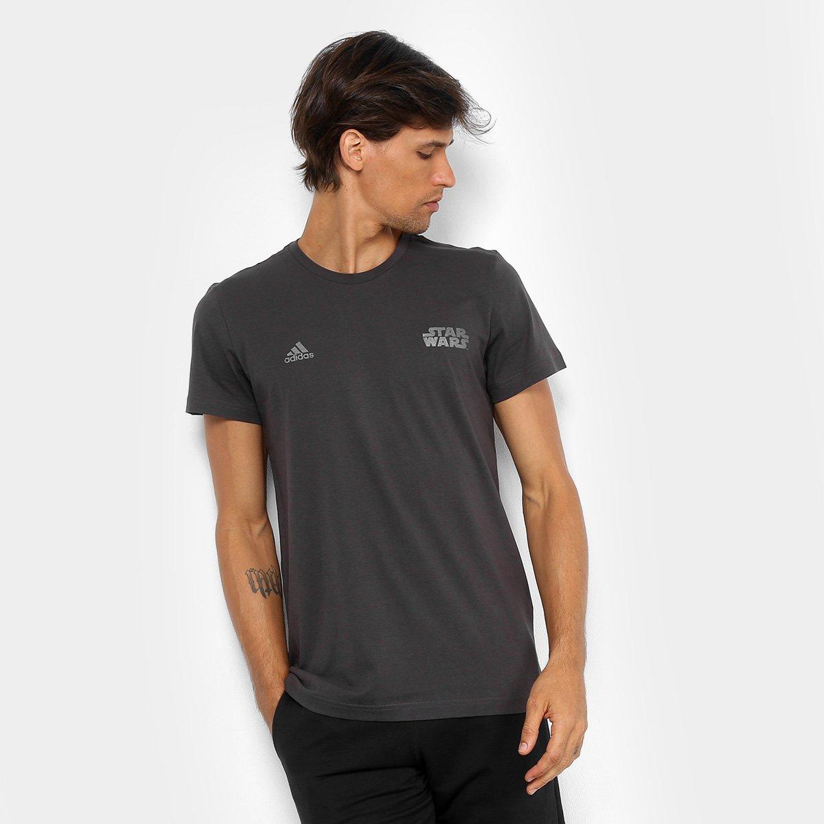 seno Leopardo liebre  Camiseta Adidas Star Wars Masculina | Netshoes