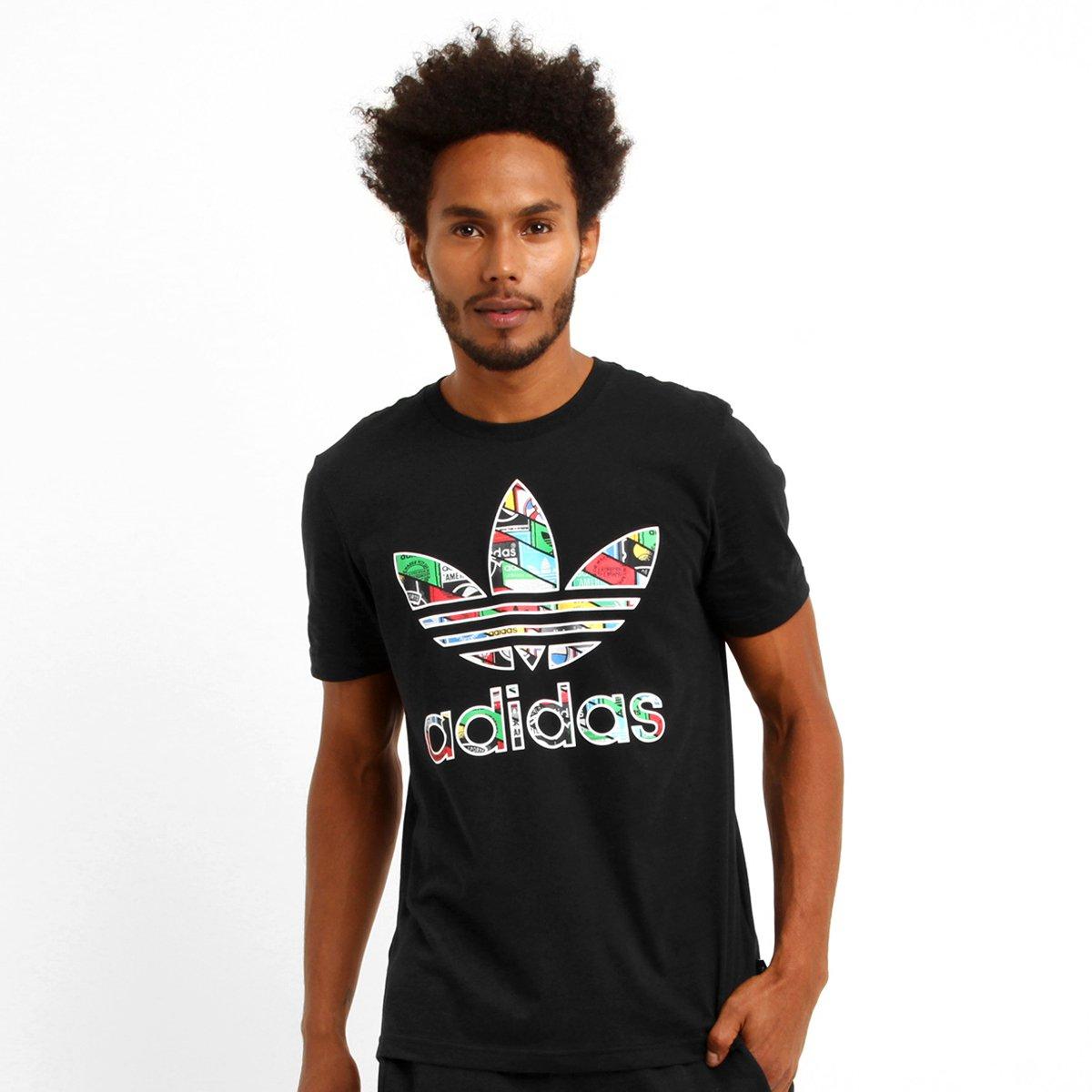 Camiseta Adidas Trefoil Tongue - Compre Agora  7e9a6fe6a2bf8