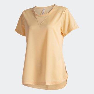 Camiseta Adidas Treino 3-Stripes HEAT.RDY Feminina