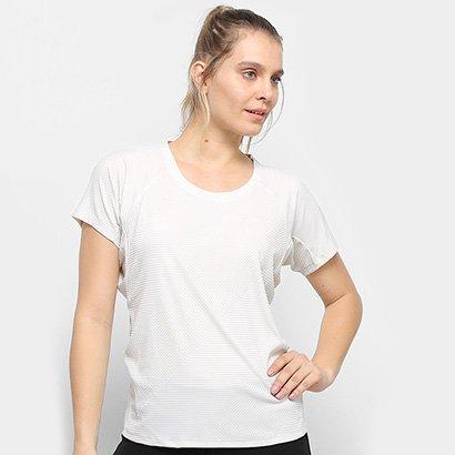 Camiseta Adidas Trng T Jacquard Feminina - Feminino