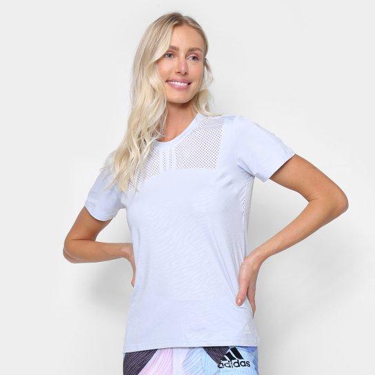 Camiseta Adidas U4U Performance Feminina - Azul