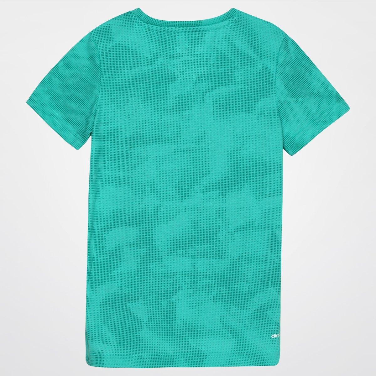 cf74b9b030 Camiseta Adidas Yg Ess Aop Infantil - Compre Agora